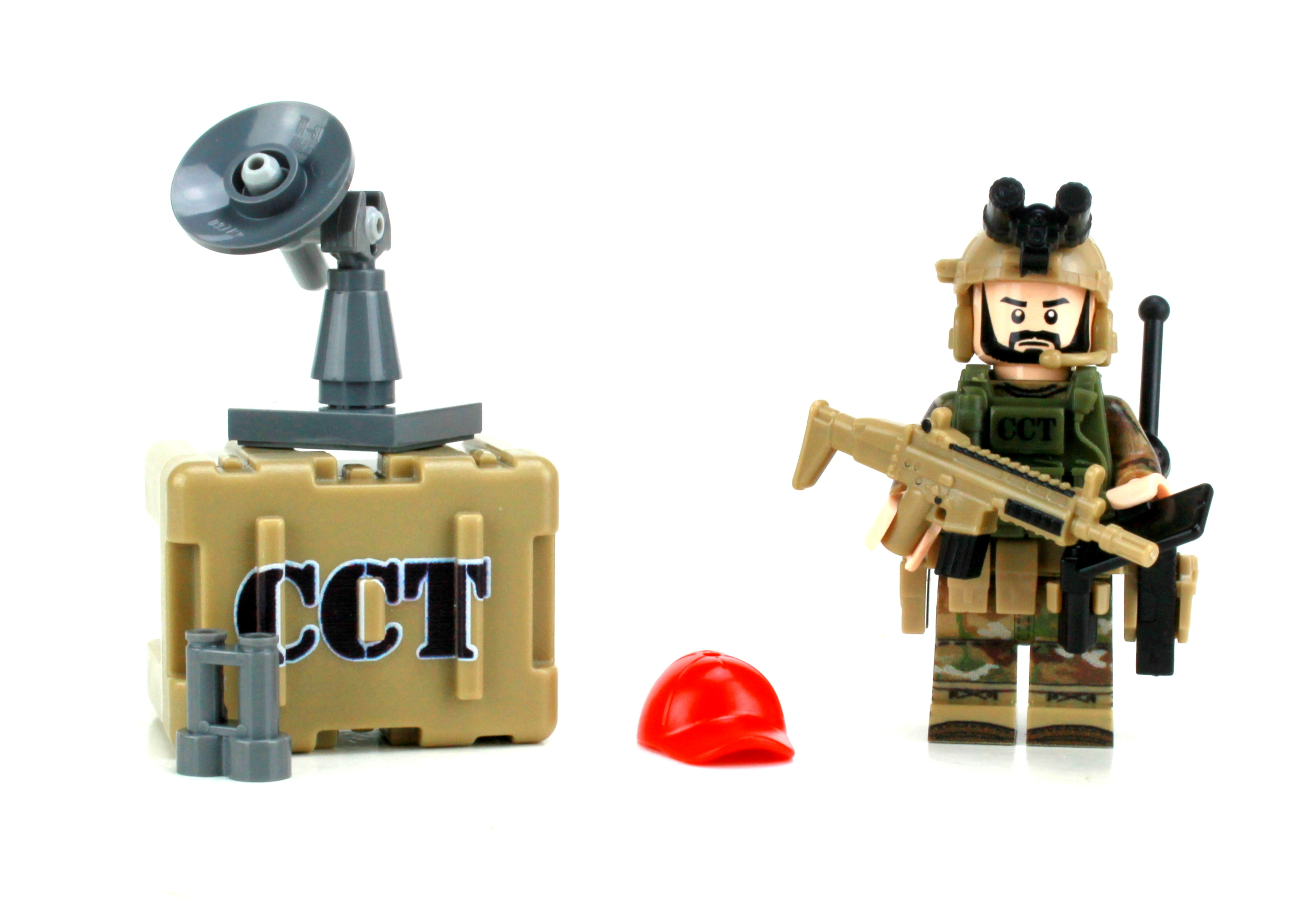Custom PJ Pararescue Air Force OCP Solider made with real LEGO® minifigure