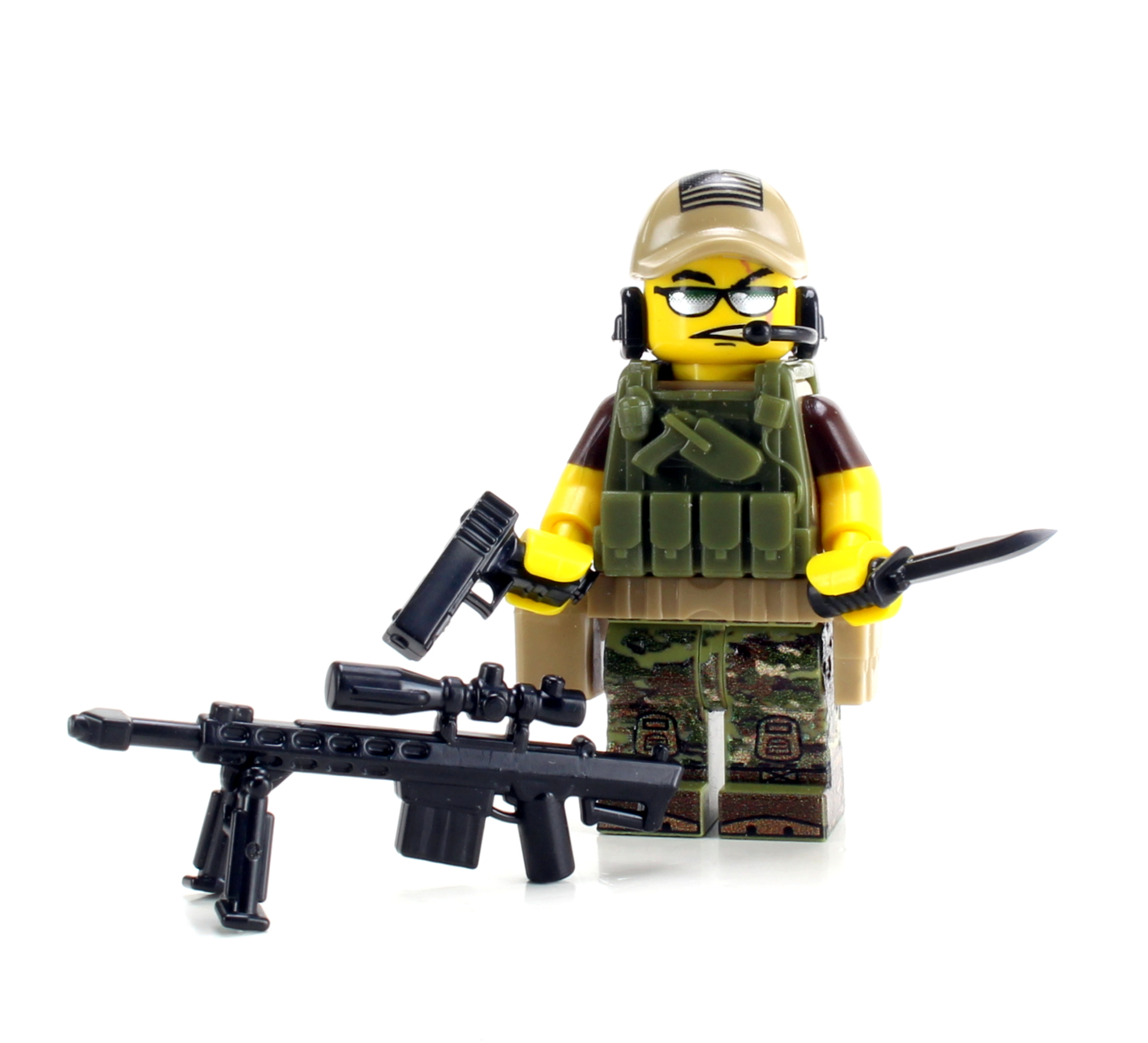 Special Forces Army Sniper Value Minifigure