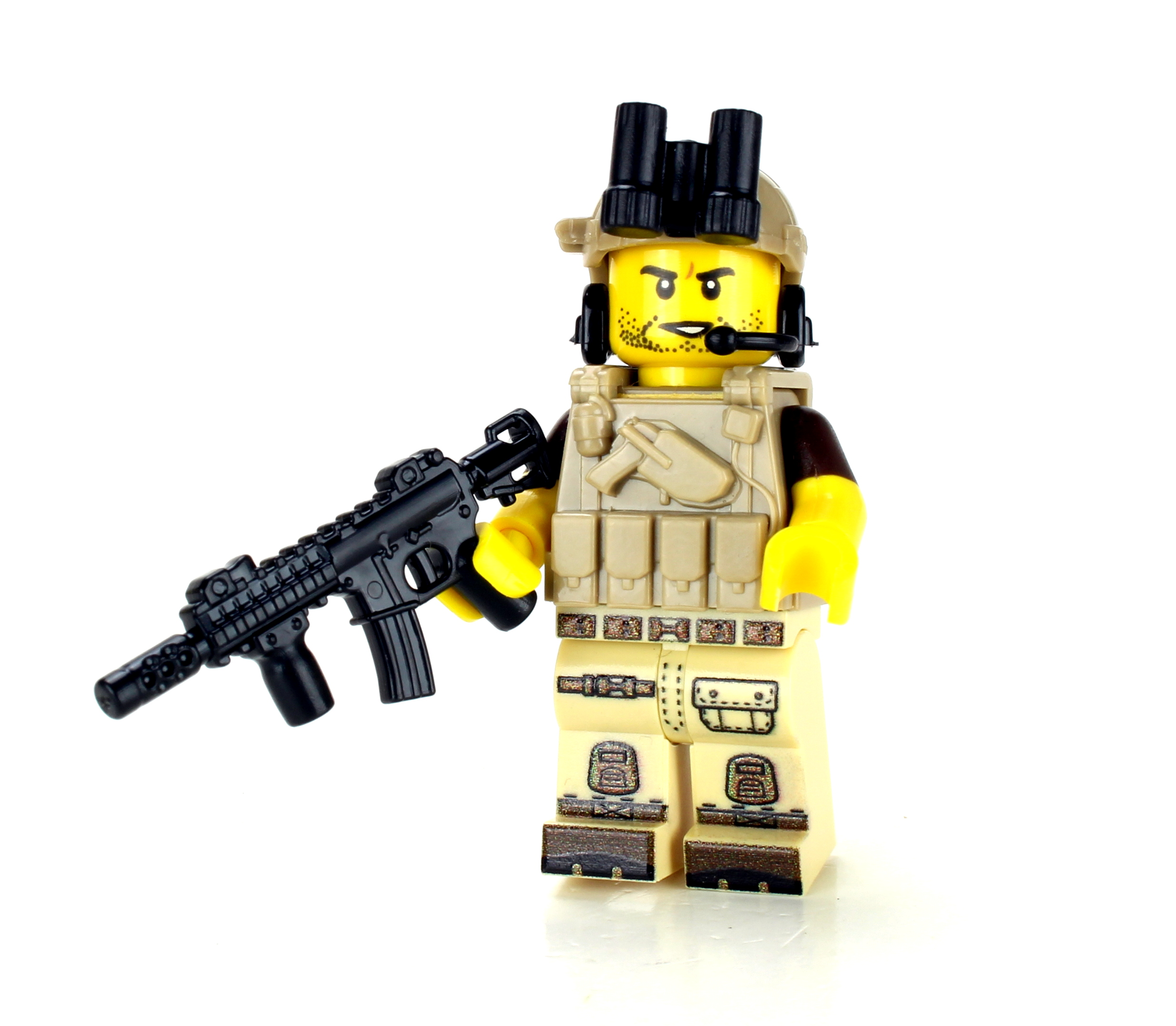 Tan Army Soldier minifigure value