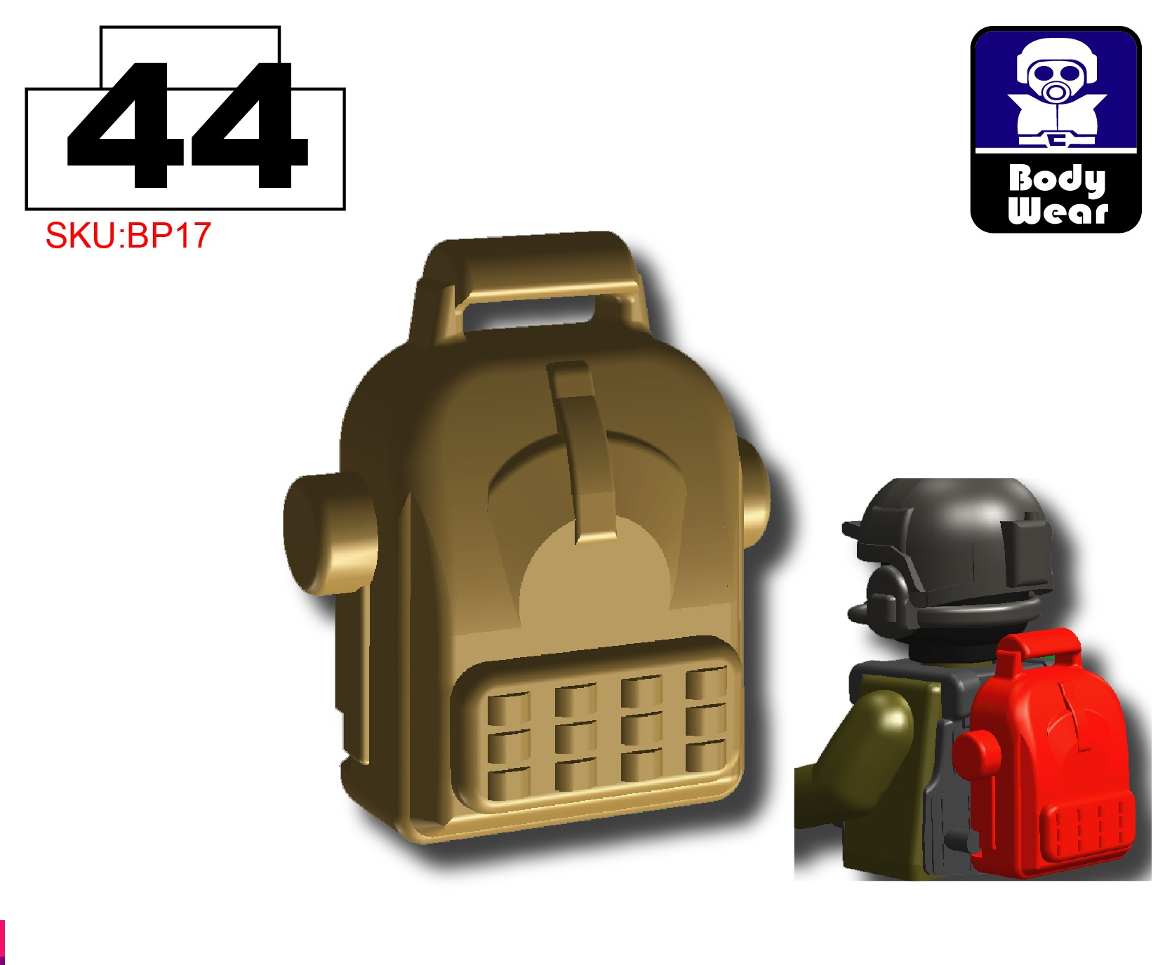 Black Tactical Assault Helmet Army compatible with toy brick minifigures