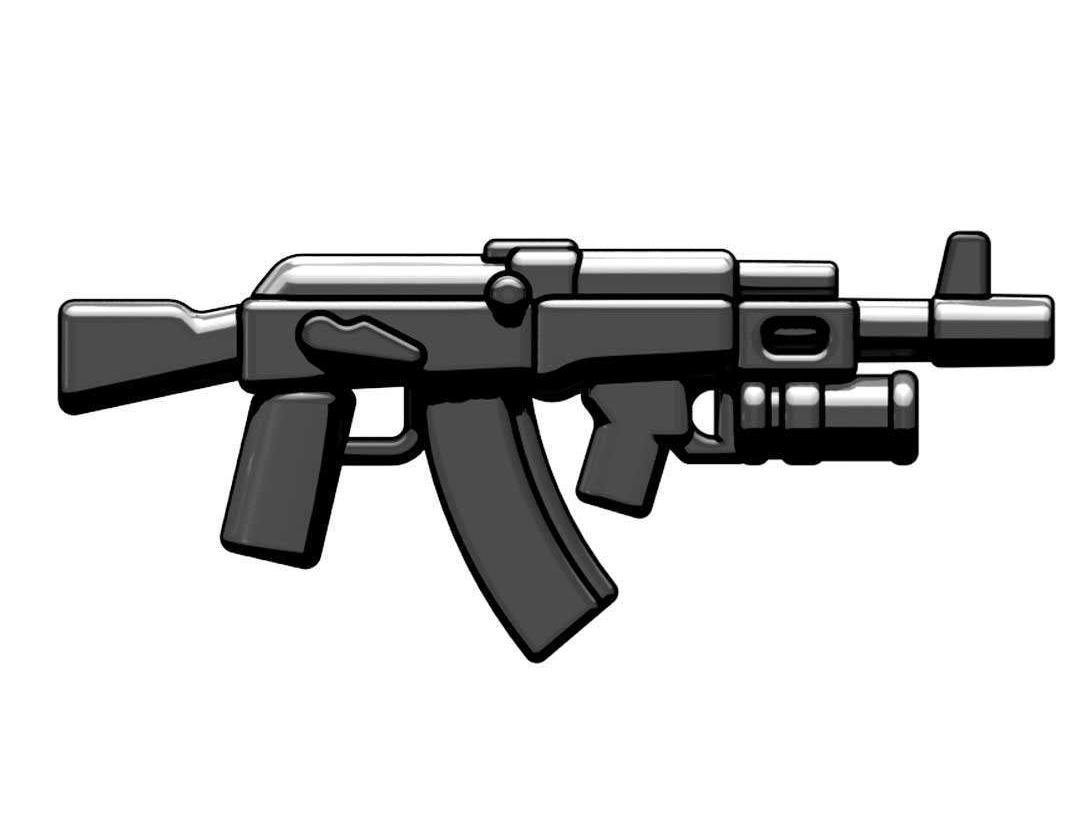Ak-Gl Russian Assault Rifle With Grenade Launcher