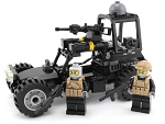 Navy Seal Desert Patrol Vehicle Made With Real Lego Bricks