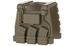 Dark Tan Minifigure Tactical Vest E1 Body