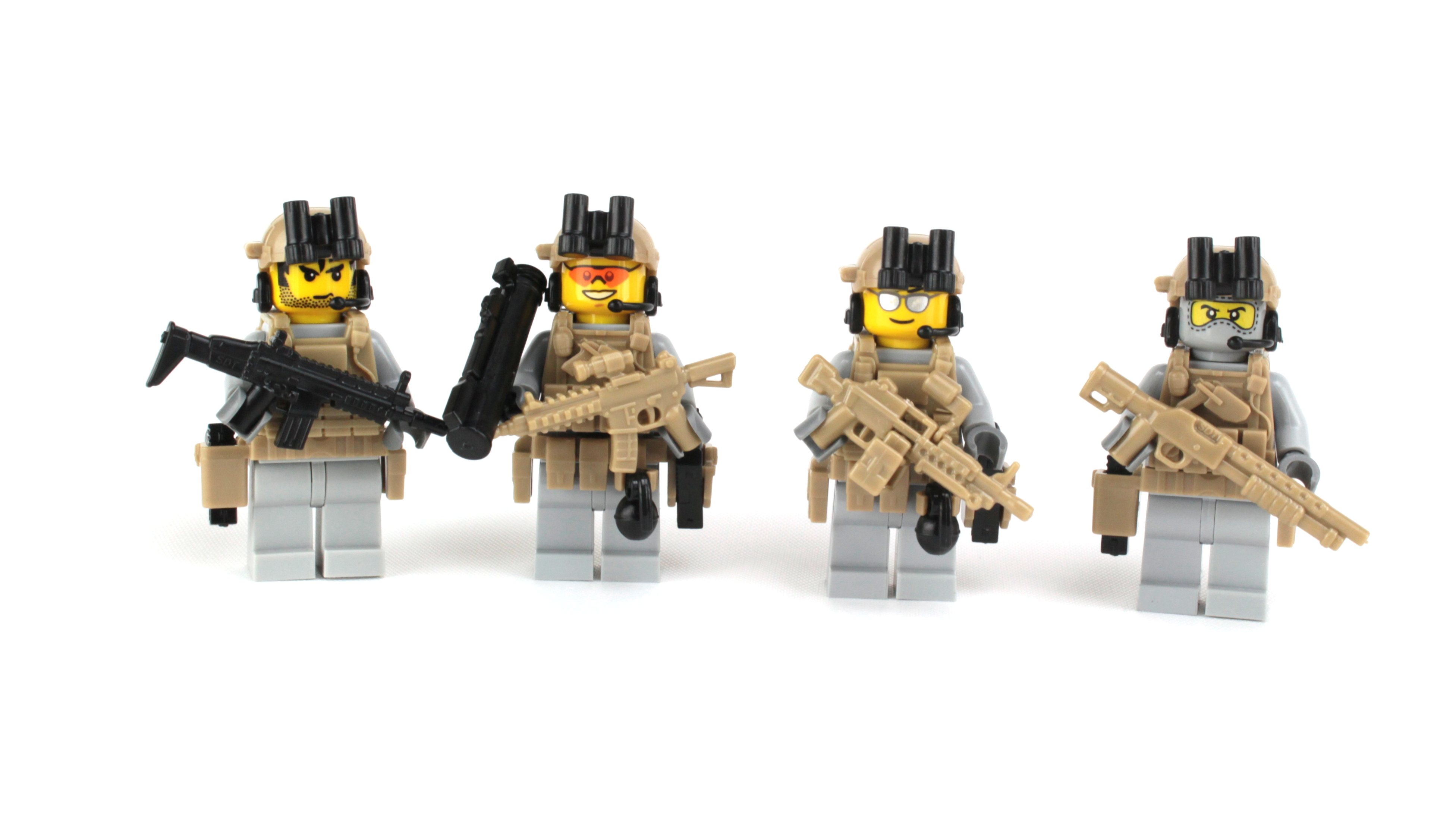 U.S. Army Rangers Complete Squad Minifigures