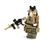 Army Ranger OCP SF Soldier Minifigure