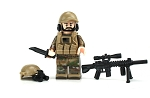 Army Special Forces Sniper OCP Minifigure
