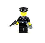 WW2 German Panzer Commander Minifigure