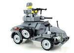 German WW2 Armored Car Sd.Kfz 222 Custom Set