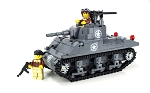 Deluxe M4 Sherman Us World War 2 Tank
