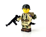 WW2 U.S. Army 82nd Airborne Paratrooper Minifigure