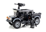 Special Forces Black Operations Gun Truck