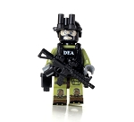 DEA Special Response Team SRT Officer
