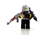 Mercenary Bandit Minifigure