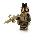 US Army Gunner African American OCP Minifigure