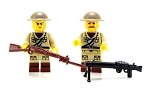 WWI Doughboy Soldier Minifigures