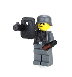 WW2 German Soldier Anti-Tank Rocket Minifigure