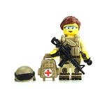 Woman of Valor Combat Medic Minifigure