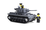 Deluxe German WW2 Panzer Tank Made With Real Lego® Bricks