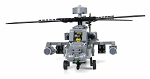 Battle Brick Army Attack Helicopter