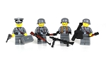 German WW2 Soldiers Complete Squad Minifigures