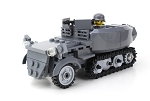 Deluxe German Half Track Sd.Kfz. 250 WW2