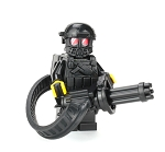 Heavy Gunner Minigun Soldier Minifigure