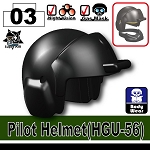 Advanced Minifigure Tactical Pilot Helmet HGU56