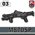 M870SP Tactical 12 Gauge Shotgun