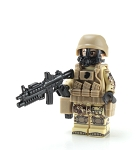 Marine Corps Chemical Warfare Minifigure