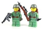 WW2 U.S. Marines 2 Pack Minifigures