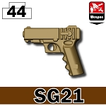 Dark Tan Sg21 .45 Pistol