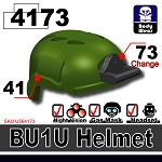 Tank Green BU1 Tactical Helmet