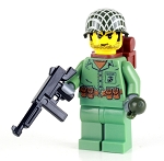 WW2 Marine Soldier Minifigure