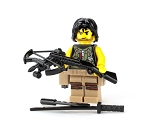 Zombie Hunter Minifigure