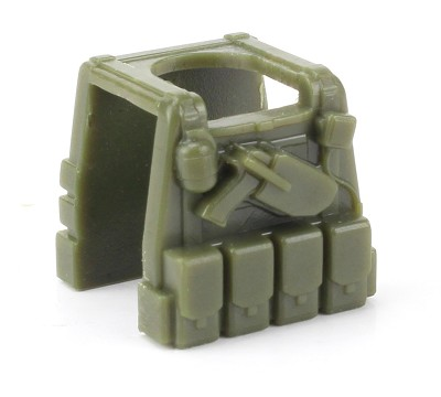 Green Minifigure Tactical Vest P1