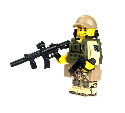 Marine Raider Special Forces Minifigure