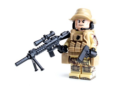 Force Recon Marine Sniper Minifigure