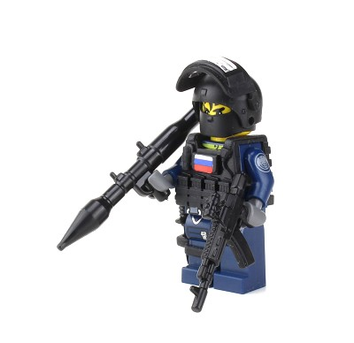 Russian Spetsnaz Special Forces Minifigure