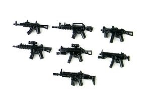 Weapons Pack V3 Minifigures