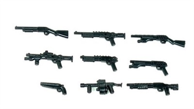 Shotgun Pack - 12 Gauge Minifigures