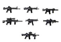 Weapons Pack V4 Army Guns Minifigures