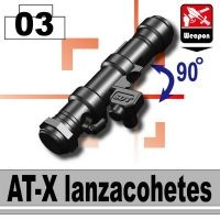 At-X Minfigure Anti-Tank Bazooka Rocket Launcher