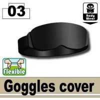 Minifigure Goggle Cover Army Tactical Equipment